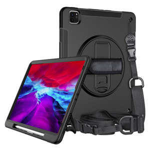 For Apple 2018 2022020 ipad pro12.9 dust-proof, pressure-resistant and drop-proof pen suction ipad protective cover with shoulder strap