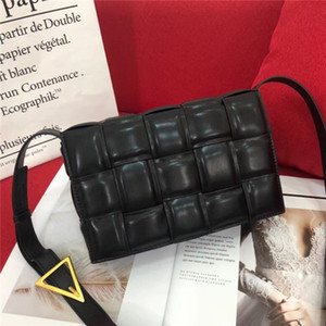 design de luxe des femmes de sacs à bandoulière sac en cuir tressé tofu mode net rétro petit rouge sac carré femmes concepteur sac à bandoulière sac à main