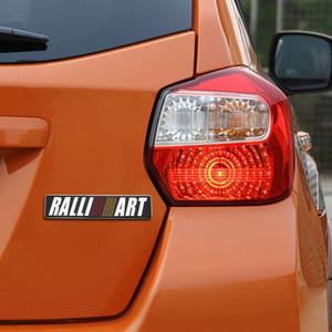 3D Car Styling Etiqueta RALLI Emblem ART porta traseira emblema para lancer ASX Outlander pajero l200 mitsubishi acessórios Galant