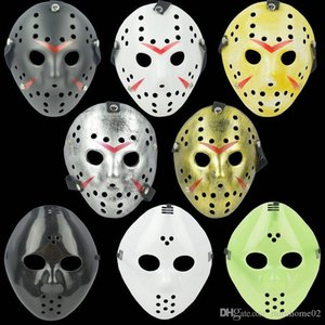 Costume Killer Mask Antique Face Full Jason Mask Stock Vs Friday The 13th Prop Horror Hockey Archaistic Jason Cosplay Halloween Mask In Ahrq