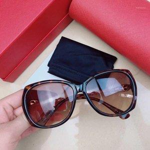 Óculos de sol femininos CA0733S Quadrado Quadro de Tortariseshell Cor Moda Elegante Pérola Especial Lentes Glasses1