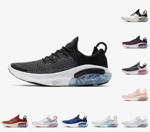 حار بيع 2021 جديد Joyride Run FK Mens Womens الاحذية ثلاثية أسود أبيض البلاتين المتسابق الأزرق المصممين الرياضة أحذية رياضية فائدة 36-45