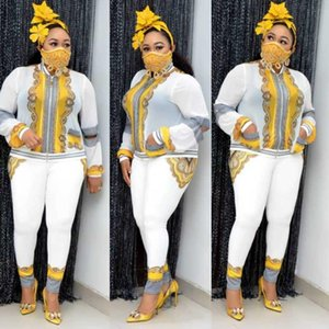2 Two Piece Set Women African Clothes Dashiki Fashion Africa Suit Top And Pants Super Elastic Party Suits Lady Africa Clothing