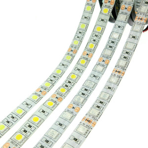 Flexible LED Strip Lighting SMD 5050 DC12V 60LEDs m 5m roll RGB RGBW Decorative lights