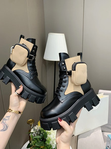 Маслинные кожаные и нейлоновые меховые сапоги Мартин Обувь Лодыжки Боевые ботинки для женщин Ремешок с съемным нейлоновым чехол 55 мм резиновая подошва