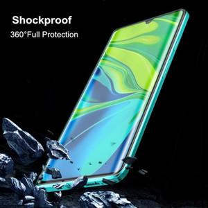 Magnetic Case For Xiaomi Mi Note 10 Lite Case Dual Side Tempered Glass Hard Cover For Mi Note 10 Lite Funda H sqczFB