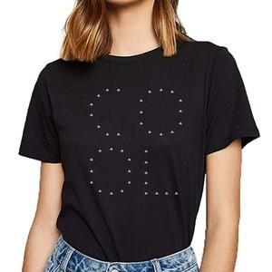Tops camiseta de las mujeres rey amor reina leidenschaft enfríen gewichteheber deporte Kawaii inscripciones algodón Mujer Camiseta Sudadera con capucha