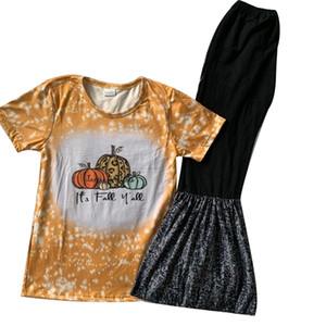Kinder Kleidung Sets childern Kleidung Mädchen Outfits Halloween Herbst Stil Kleidung 200930