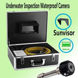 20M High Quality Cable Underwater Pipe Endoscope Video Camera 23mm Lens 7Inch LCD Industrial Sewer Drain Inspection System