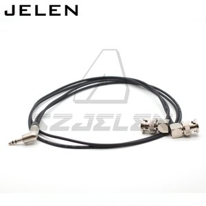 ZOOM F6 Time code cable ZOOM F6 time code input and output line. 3.5 audio plug to 2 BNC