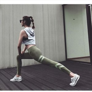OVESPORT 7 Colors Army Green Slim Workout Leggings for Womens Fitness Push Up High Waist Women Leggings Quick Dry Pants