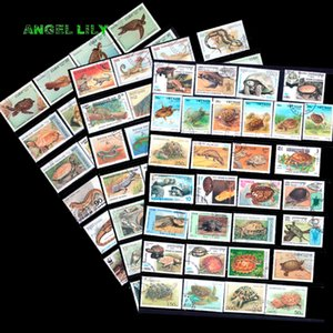 Reptile 250 PCS All Different Used World Wide Postage Stamps In Good Condition For Collecting Q1114