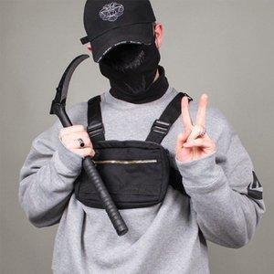 Kleine Männer Rig Bag Streetwear Outdoor Sport Taille Militär Wasserdichte Schulter Telefon Geld Gürtel Taktische Brust C1026