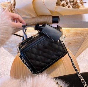2021caviar cosmetic bag CC Luxury Designer Lady Fashion CrossBody Bag Handbags Diamond Lattice Totes channel women bag Chains Shoulder Bags