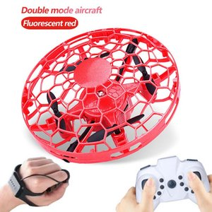 Good Collision Drone UFO Sensor Quadcopter Infrared Handle Anti Control Children Watch RC Remote New Helicopter Mini Toy Gift Aircraft Mbro