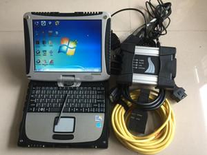 BMW를 들어 ISTA / D ISTA / P ICOM BMW 전문 진단 도구 ICOM NEXT 노트북 cf19 B와 C는 설치된 HDD 2020.09 소프트웨어