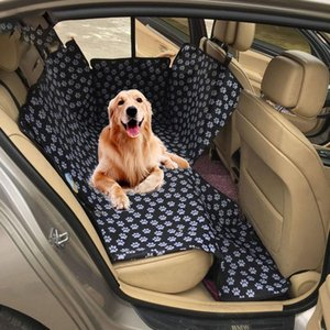 KENNEL Dog Carriers Waterproof Rear Back Pet Dog Car Seat Cover Mats Hammock Protector with Safety Belt Pet Supplies Products