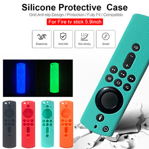 Luminous Silicone Case Shockproof Cover For Fire TV Stick 4K   Fire TV (3rd generation)   Fire TV Cube Voice Remote Control