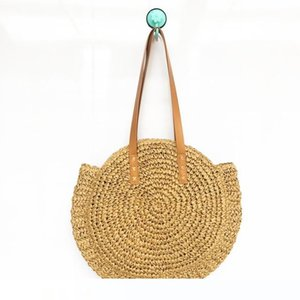 Weaving Handbag Classic Style For Women Storage Bags High Capacity Polyester Fiber Travel Shopping Bag Fashion 23yh YB