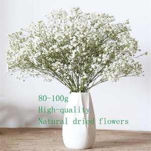 Colorful Natural Babysbreath Dried Preserved Flowers Real Natural dried bouquet For DIY Flower Material Wedding home decoration