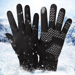 Thermal Full Finger Gloves Mens Ski Winter Gloves Windproof Waterproof Warm Snowboard Outdoor Hiking Cycling Sports