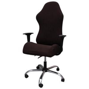 Cubiertas de silla de competencia de juego elástica Oficina doméstica Café de Internet Rotating Armrest Silla Casos de silla