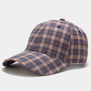 Зимняя мода плед бейсболка для мужчин женщин клетки бейсбольные шляпы партии шляпы вечеринка шляпы уличные одеяла Snapback хип прыжки шляпа Trucker T3I51689