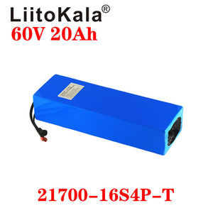 LiitoKala 60V 30AH 20ah 25ah 40Ah 2500W Lityum iyon pil elektrikli bisiklet pil elektrikli tekerlekli sandalye e motosiklet akü BMS