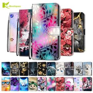 Vibrazione del cuoio copertura di caso per Xiaomi redmi 8 Caso Etui casse del raccoglitore del telefono per Xiaomi redmi 8A 7A 6A 5A 4A 4X Pro Caso Plus 6 5