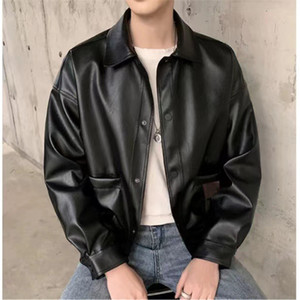 Men Jacket Desinger Winter Long Parkas Fashion Men Winter Clothing Windbreaker Long Down Coat Leather Jacket Size M-XL
