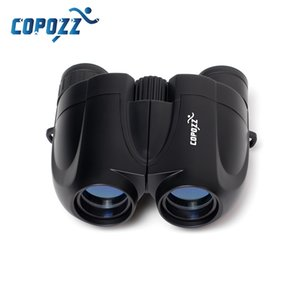 COPOZZ Zoom Telescope Adult Kids Folding Binoculars Low Light Night Vision for Outdoor Camping Skiing Bird Watching LJ201114