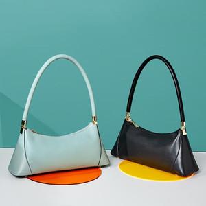 Cross Body Covishide undermary сумка женщин 2021 роскошь дизайнерская сумка ретро натуральный кожаный багет плечо мини