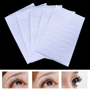 5 feuilles 100pcs Eye blanche EXTENSION EXTENSION TISSOTS PADS PAYS PATCHES PATCHES TAPES ADHÉSIVES DE TYELS Femmes Filles Maquillage Beauté Outil