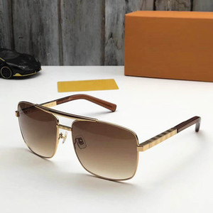 ücretsiz lojistik Küresel 0260 son tasarım klasik moda stil sac erkekler ve kadınlar lüks en kaliteli UV400 güneş gözlüğü