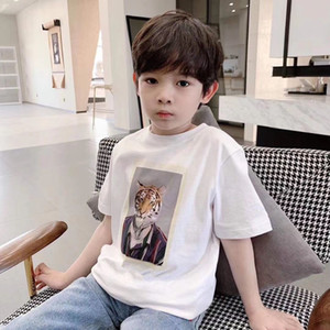 2021 high quality free shipping girls Boys T Shirt For Summer Kids Shirts 2-14 Years Cartoon Print baby Cotton Toddler Tops