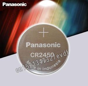 2PCS الأصل باناسونيك CR2450 3V كر 2450 ليثيوم زر خلية بطارية بطاريات كوين للساعات، والساعات، السمع sqckkj homes2007