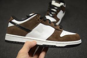 2021 Dunk Running Shoes Bas SP Trail Brown Kateboard Chaussures Femmes Hommes Fashion Baskets de créateurs de luxe 36-46
