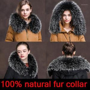 2020 new Women natural fur collar multicolor shawl collar fur female fashion autumn and winter warm shawl scarves1