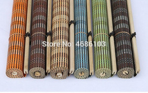 New arrival Green color bamboo roller blinds window roller blinds blackout curtain shutter curtain vintage porch OzwA#