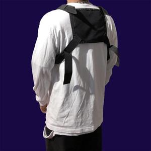 Hombres Pecho anillo de los hombres bolsa de pecho Boy chaleco táctico Mochila manera de la cintura del bolso masculino del paquete de Fanny Boy chaleco Bolsas 030373