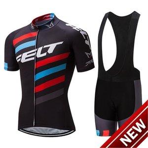 2021 Nuovo 2021 Felt Pro Cycling Jersey della bici breve Set Mtb Ropa Ciclismo Pro Cycling Wear Mens Bicicletta Maillot Culotte