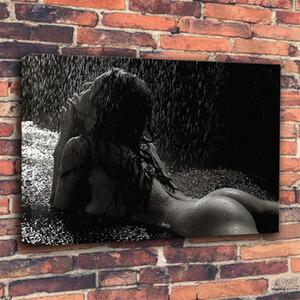 Nude Femmes Toile Peinture Sexy Fille Affiche et impressions Peinture Mur Art Photos pour la décoration de salon à la maison