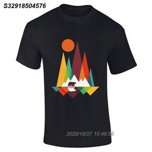 Hommes Garçons Bear Mountain Lot Vêtements de Danse Nouveauté Fitness Tee Funky T-shirt Top fierté Refroidir Casual hommes t-shirt unisexe New Fashion 32102810
