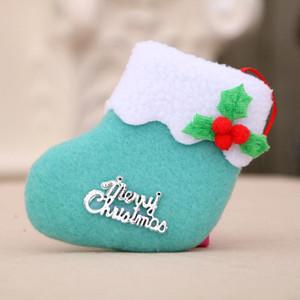 Christmas Socks Gift Christmas Decorations New Year Gifts Santa Snowman Socks Xmas Tree Hanging Ornament Arbol De Navidad yxlhdR homes2007