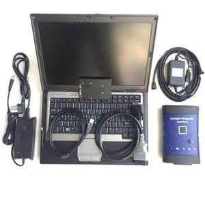 Top Quality For G M MDI With WiFi With tech2win+GDS Installed In Laptop d630 Computer Best diagnostic tool For g m mdi