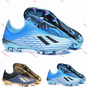 Lace Up Predator 19+FG Youth Junior Big Boys kids Men Football shoes Inner Game X-Layskin Speedframe Low Top Soccer cleats Boots size 36-45