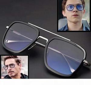 Wholesale-Sunglasses Vintage Men Square Frame Sunglasses DT006 Fashion Women Optical Glasses Star Style Shades Eyeglasses Frames with Box