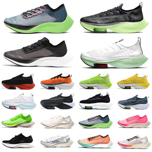 zoomx Alphafly Lime Blast zoom VaporFly NEXT % Mens Running shoes Ekiden Valerian Blue Ribbon Sail pink Men trainers Women Sports Designers sneakers 36-45
