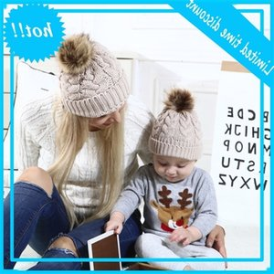 Used Children Beanie Muts Baby Girl Hat For Steak Winter Heat and Windproof Wool Cap Kids Accessories