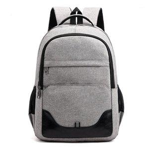 جديد أكسفورد الرجال حقيبة سفر طالب مدرسة bagpack بسيط الاتجاه plecak szkolny الأزياء sac a dos homme الكمبيوتر ظهره